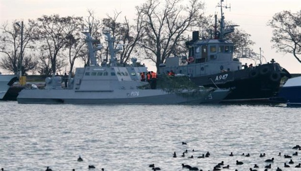 Ukraine vui mừng vì Nga dừng điều tra vụ eo biển Kerch