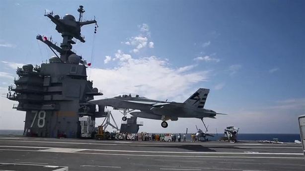 USS Gerald R. Ford chưa thể tác chiến vì thang máy
