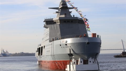 Nga trang bị tàu phá băng mang Kalibr cho cả FSB