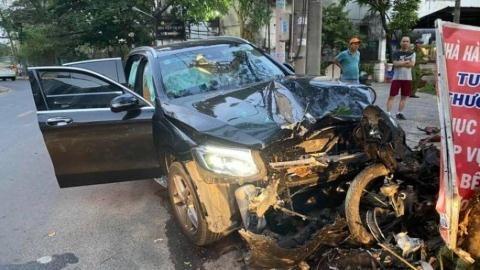 Tài xế Mercedes tông tiếp viên hàng không: 'Quanh co chưa nhận'
