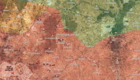 Người Kurd trợ chiến, SAA bao vây trạm quan sát Thổ