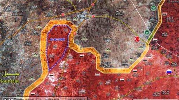 Quân Assad tiến thẳng Saraqib, Thổ hành động nóng