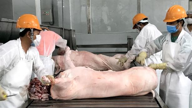 Việt Nam nhập khẩu 100.000 tấn thịt lợn: Linh hoạt