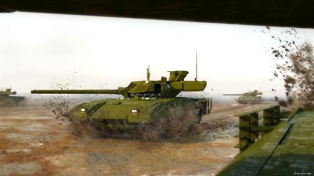 Nga dùng Armata chốt chặn sườn Tây