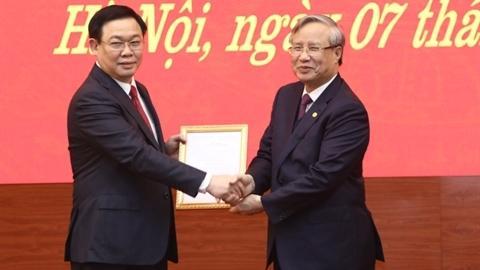 Ông Vương Đình Huệ giữ chức Bí thư Thành ủy Hà Nội