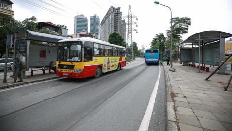 Hà Nội nghiên cứu đường riêng xe buýt: Tránh hệ lụy BRT