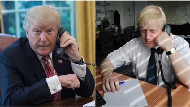Bàn về Huawei với Anh, ông Trump phẫn nộ cúp máy?