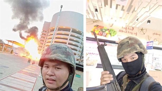 Xạ thủ chuyên nghiệp Thái Lan xả súng giết nhiều người