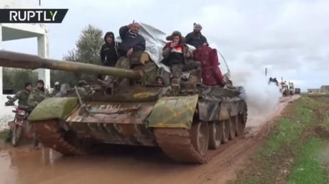 Phớt lờ Thổ, Nga-Syria càn quét Idlib-Aleppo