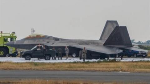 Krasukha-4 đã 'thiêu rụi' F-22 và F-35 tại chiến trường Syria?