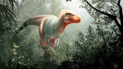 Phát hiện loài khủng long ăn thịt mệnh danh 'thần chết'