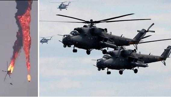 Mi-24 Syria bị hạ, SAA tái chiếm thành công thị trấn Nayrab
