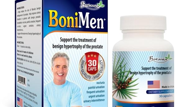 BoniMen–Bí mật giúp tiền liệt tuyến phì đại trở về bình thường