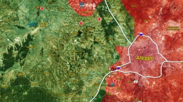 Phiến quân vỡ trận, Thổ nã pháo vào SAA trong vô vọng