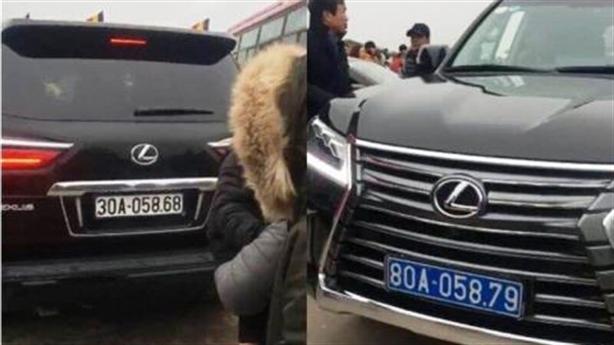 Bất ngờ chủ nhân xe 2 biển chùa Tam Chúc: Không biết!
