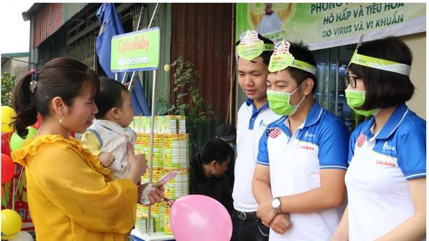 VitaDairy trao tặng 1 triệu gói sữa non ColosIgG 24h