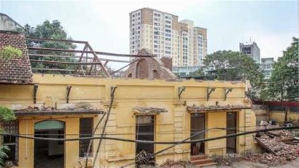 Phá trạm phát sóng Bạch Mai: Buộc trả lại hiện trạng