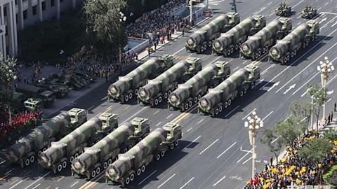 Trung Quốc sắp bắt kịp số lượng đầu đạn hạt nhân Nga-Mỹ