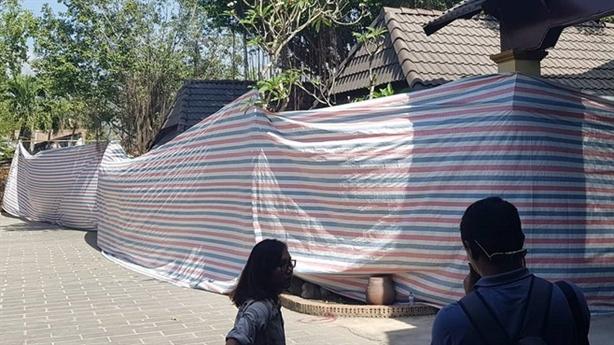 Báo cáo tiến độ cưỡng chế Gia Trang quán - Tràm Chim resort?