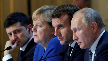 Liên tiếp đụng độ ở Donbass, Ukraine đòi họp Bộ tứ Normandy