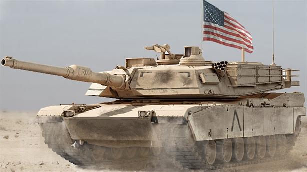 Xe tăng Mỹ xuất hiện ở Syria: Washington giúp Ankara?
