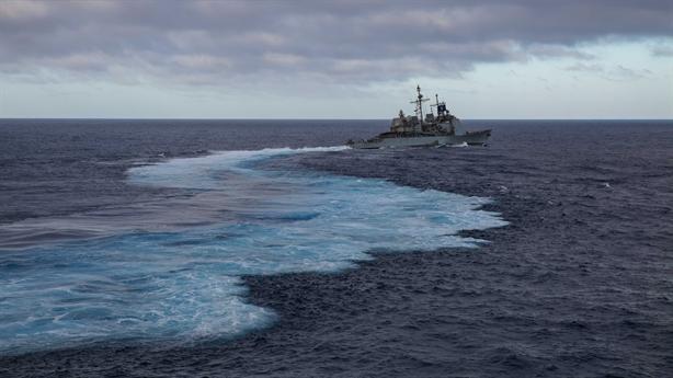 Mỹ đưa chiến hạm qua eo Đài Loan