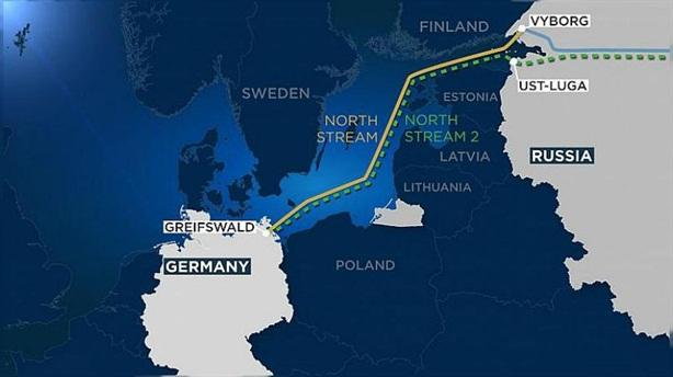 Gazprom phản pháo Mỹ vì trừng phạt Nord Stream-2