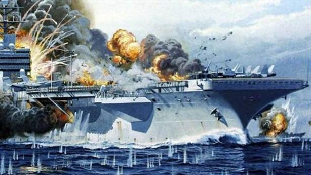 Cần bao nhiêu tên lửa, ngư lôi đánh chìm tàu sân bay?