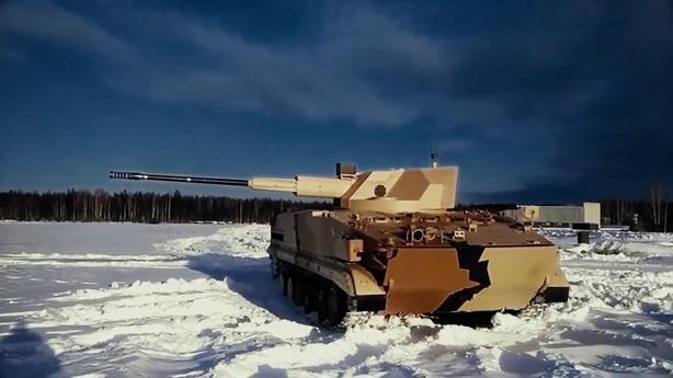 Pháo tự hành Nga diệt gọn tên lửa hành trình