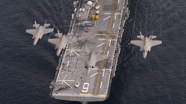 Tàu tấn công đổ bộ giúp Mỹ thống trị đại dương