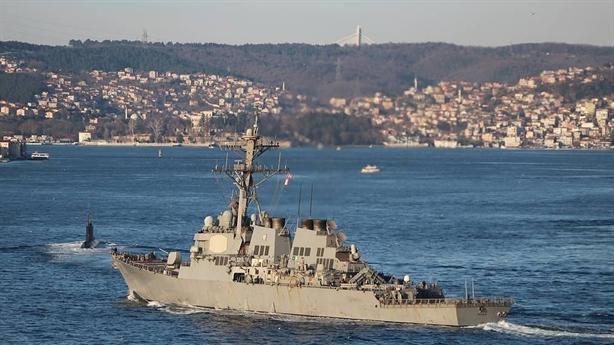Tàu khu trục Mỹ đến Biển Đen, Moscow phòng bị từ xa