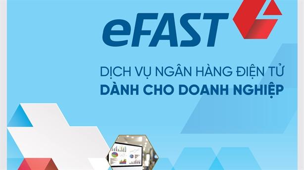 Tiên phong ứng dụng công nghệ mới trên VietinBank eFAST