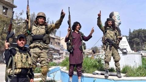 Quân đội Syria bị đẩy lui khỏi thị trấn trọng điểm Nayrab