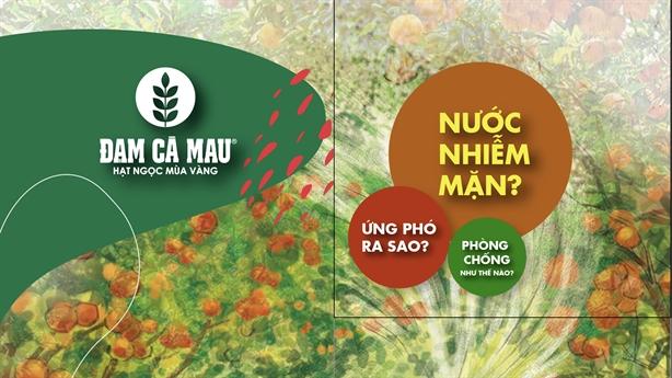 Đạm Cà Mau hỗ trợ nông dân vượt hạn - mặn