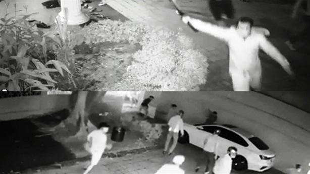 Trích xuất camera nhóm cầm kiếm xông vào biệt thự đại gia