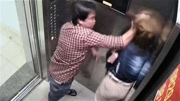 Đánh dã man phụ nữ trong thang máy: Chỉ phạt hành chính