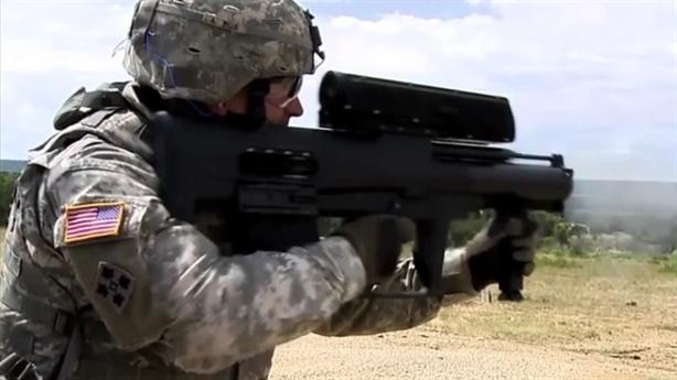 Súng phóng lựu dẫn đường laser Mỹ khiến trận chiến thay đổi