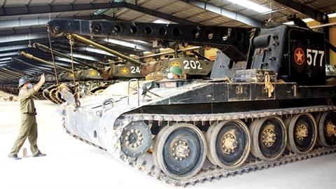 Bất ngờ khi Việt Nam vẫn còn M578 chiến lợi phẩm