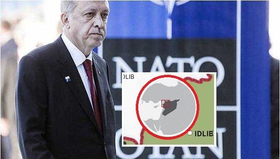 NATO giúp Thổ ở Idlib bằng Hỏa lực miệng