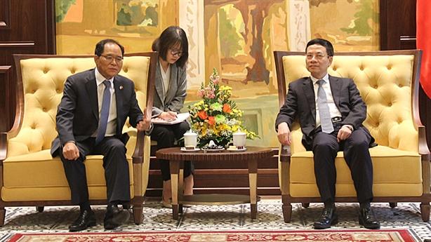 Thương mại hóa 5G ở Việt Nam: Hàn Quốc muốn hợp tác