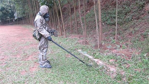 Máy đo phóng xạ ít biết của phòng hoá Việt Nam