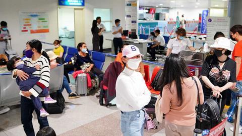 Nội Bài, Tân Sơn Nhất dừng nhận chuyến bay từ Hàn Quốc