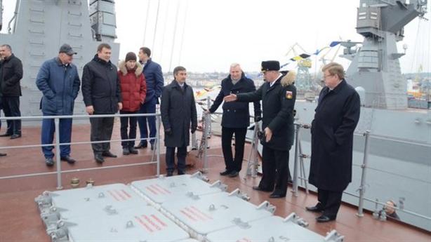 Đô đốc Ukraine phàn nàn vì Kalibr tràn ngập Biển Đen
