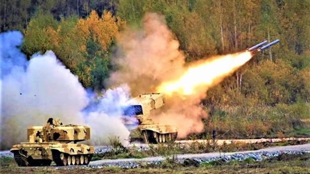 Nga công bố pháo nhiệt áp mạnh hơn TOS-1A