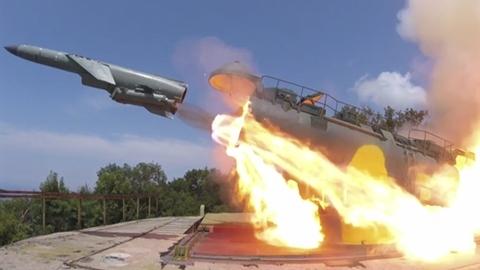 Nga phóng tên lửa chống hạm bay sát tàu khu trục Mỹ