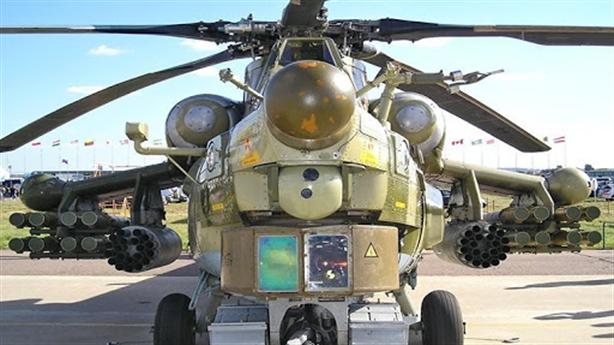 Đòn đánh chặn như tiêm kích tàng hình của Mi-28NM
