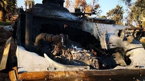 ACV-15 Thổ Nhĩ Kỳ tan tành sau đòn đánh của SAA