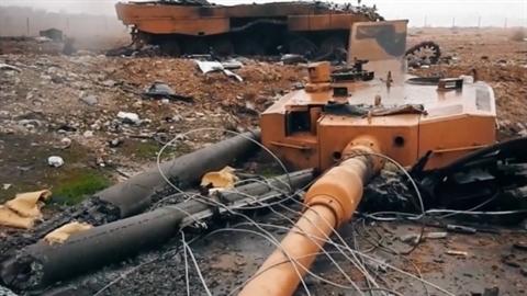 Thổ Nhĩ Kỳ mất 30% số xe tăng Leopard đưa sang Idlib?