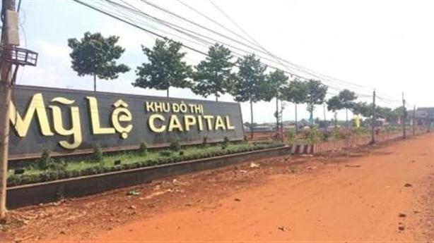 Rủi ro 'mua đất trên giấy' tại dự án Mỹ Lệ Capital