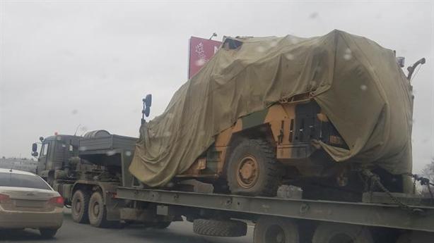 Nga đưa xe chiến đấu Thổ về Moscow sau khi thu giữ